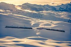 Gornergratbahn (iSteven-ch) Tags: travel winter mountain snow canon switzerland gornergrat zermatt wallis ch swissalps gornergratbahn eos6d rotenboden stadlerrail