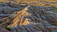 Eroded Butte Badlands National Park (Jerry Fornarotto) Tags: travel mountain southwest west tourism nature beauty rock southdakota landscape nationalpark sandstone scenery alone desert natural outdoor hiking scenic dry erosion western badlands geology np wilderness arid tranquil isolated rugged badlandsnationalpark southcoyotebuttes sonya7r fe70200mmf4goss jerryfornarotto aurorahrd