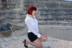 DCS_9783 (dmitriy1968) Tags: portrait cliff nature girl beautiful erotic outdoor wife quarry    sexsual