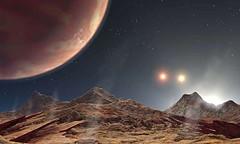 """'เคลท์-4เอบี' โลกที่มี 3 ดวงอาทิตย์     ทีมวิจัยจากศูนย์ศึกษาฟิสิกส์ดาราศาสตร์ ฮาวาร์ด-สมิธโซเนียน ในสหรัฐอเมริกา เผยแพร่ผลงานการค้นพบทางดาราศาสตร์ใหม่ในวารสารวิชาการด้านดาราศาสตร์ """"ดิ แอสโตรโนมิคอล เจอร์นัล"""" ฉบับล่าสุด ระบุว่า ระบบดาวเคลท์ ซึ่งก่อนหน้านี"""