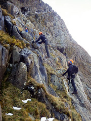 Honister_Via Ferrata (12 of 73) (Kevin John Hughes) Tags: bridge england lake snow mountains net landscape scary burma rope cargo climbing pike keswick buttermere honister dostrict fleetwith mountineering