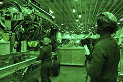 Marine Ospreys support Lightning out at sea (MarineCorpsAviationAssociation) Tags: navy buck atlanticocean marinecorps containers skid f35 prattwhitney jeffward fa18hornet ea6bprowler verticalreplenishment av8bharrier vmfa121 simulate overheadcrane mv22bosprey powermodule f35lightningii connectedreplenishment ot1 f35lightningiijointstrikefighter f35b vmfat501 annekhenry legacyaircraft michaelchotkowski mattsaudberg f35engine usswasplhd1operationaltesting1 shippingbuck usswasplhd1atsea atseaenvironment