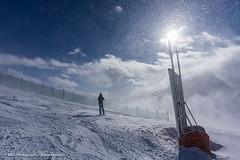 Schneegestber aufgenommen oberhalb von Warth in sterreich - Snow flurries photographed above Warth in Austria (klausmoseleit) Tags: schnee winter sport sterreich wasser jahreszeit berge orte landschaft sonne skifahren schrcken vorarlberg at