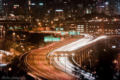 ray of lights (kenlwc) Tags: road city longexposure urban color night hongkong lights highway rayoflight 80200 laiking minoltalens 80mm200mm sonya7 kenlwc minoltaaf80200mmf28