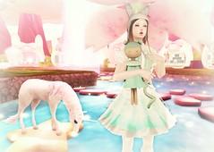 Cuteness (eloen.maerdrym) Tags: anime bunny bunnies japan japanese milk tea o style x v f e serenity kawaii 20twenty vco releases {l} wltb halfmagic serenitystyle sanarae {lovefox} eloensotherworld {konpeitou} kawaiiponpon