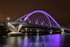 Purple Lowry (NightSkyMN) Tags: bridge minnesota night purple minneapolis prince lowry