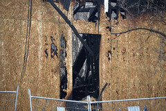 apartment block - Westminster@Maryland fire (Justin van Damme) Tags: wood westminster fire maryland condo damage blaze charred wolseley