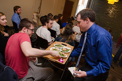 Chef Alex Ong 4/19-4/20/16 (UMassDining) Tags: test cooking alex students demo salad student chef taste guest ong
