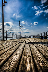 The pier (jimisolek) Tags: wood lake pier the