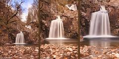 Eas Chia-Aig (Russell Walker) Tags: waterfall triptych loch lochaber arkaig lochy clunes witchescauldron achnacarry miledorcha darkmile easchisaig