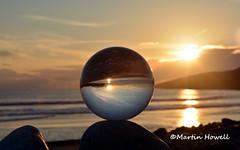 DSC_0132 (martinhowell40) Tags: sunset beach pembrokeshire crystalball freshwaterwest