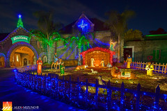 Nativity-at-Woodlawn (Nualchemist) Tags: christmas moon night clouds lights evening colorful decorative decoration illumination fullmoon colorfullights christmasdecoration dreamy nightsky holynight bethlehem nativity babyjesus birthofjesus christmasimage colorfulillumination