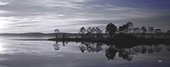 En attendant la pleine lune ... (patricia.bardon) Tags: sunset paisajes naturaleza nature landscapes pentax plage ricoh paysages brouillard brume lacanau aquitaine littoral gironde médoc naturemasterclass artofimages pentaxart patriciabardon pentaxaward pentaxk3