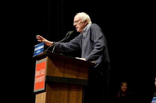 Bernie Sanders at ISU - 1/25/2016