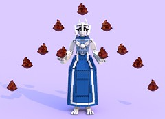 Toriel 4 (pb0012) Tags: game monster video lego character goat indie videogame ldd goatmom indiegame toriel undertale