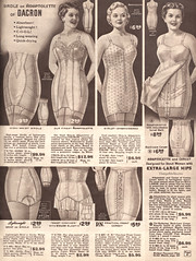 Spring and Summer 1955 Lane Bryant (vintagestitches) Tags: ladies 1955 fashion vintage lace cotton 1950s zipper corset polyester catalog satin rayon brief embroidered nylon hooks busk mailorder allinone elastic lacing garters lanebryant girdle plussize viscose boning dacron waistcincher broadcloth coutil adaptolette lenoelastic