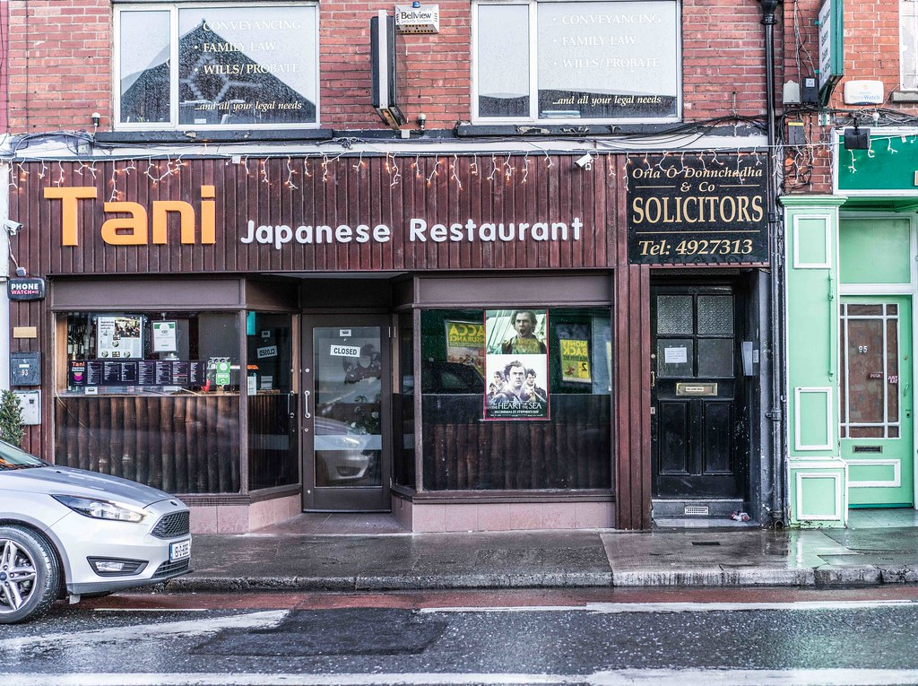 CHRISTMAS EVE IN TERENURE [TANI JAPANESE RESTAURANT]-110703