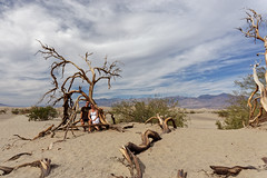 Wydmy w Dolinie Śmierci | Mesquite Flat Sand Dunes