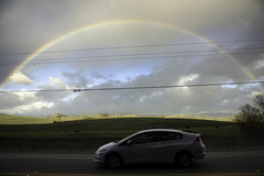 Rainbow & Power Lines (Joe Josephs: 2,861,655 views - thank you) Tags: california sky clouds landscape fineart rainbows fineartphotography pacificcoasthighway travelphotography californialandscape landscapephotography outdoorphotography joejosephsphotography