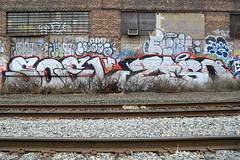 soel zeso (Luna Park) Tags: nyc ny newyork graffiti lunapark smells soel trackside zeso stuaob
