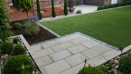 Landscape Gardening Wilmslow -  Decking Paving and Artificial Lawn Image 18