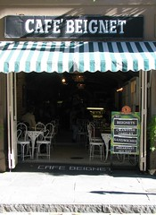 Cafe Beignet (marensr) Tags: street new green awning cafe orleans beignet