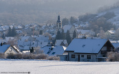 A frosty Winter Morning in Dahenfeld. (andreasheinrich) Tags: morning winter cold germany landscape deutschland dorf village snowy verschneit january felder frosty fields kalt landschaft morgen forests frostig badenwürttemberg wälder neckarsulm nikond7000