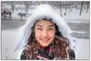 Portrait à glace (Olivia Heredia) Tags: portrait snow canada ice snowy montreal nieve pole glaciar hielo hdr highdynamicrange poledancing parcjeandrapeau tonemapped tonemapping 1exp oliviaheredia oliviaherediaotero