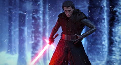 Wounded (kevchan1103) Tags: black toys star force ben action 7 s h solo figure ren series wars custom episode vii hasbro awaken the awakens shf kylo shfiguarts figuarts