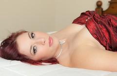 Inviting eyes (Alaskan Dude) Tags: people portraits model women photoshoot modeling models glenna