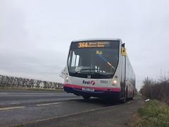 First Midland Red - 66692 CN07HVH - DP45F Volvo B7RLE Plaxton Centro (J. N. Brazier) Tags: red bus volvo centro first midland worcester upton wyvern firstbus plaxton 66692 cn07hvh