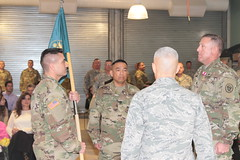 64th Civil Support Team bids farewell to Chadwell, welcomes Aguilar (nmngpao) Tags: newmexico army nationalguard soldiers airforce wmd cst weaponsofmassdestruction airmen 64th cermony changeofcommand civilsupportteam nmng