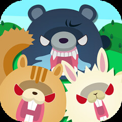 NANBATO - Animals are angry - - Android & iOS apps - Free (jpappsdl) Tags: game up animal japan forest japanese robot hit peace stage free down right puzzle angry strength left ios flick android protect apps puzzlegame regain animalsareangry nanbato nanbatoanimalsareangry