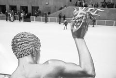 Prometheus Attacks Rockefeller Skaters (FourteenSixty) Tags: newyork iceskating skating rockefeller prometheus