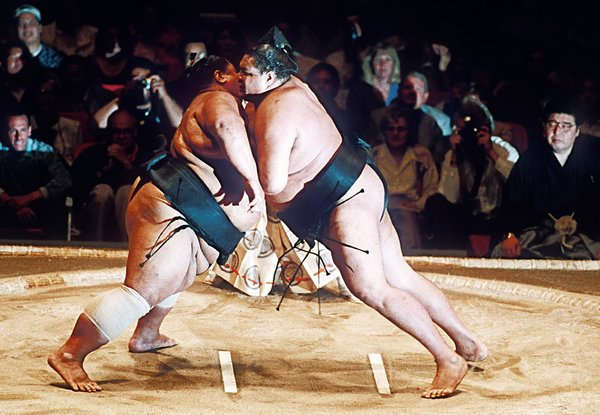 日本大事件!本土选手十年来首夺相扑冠军(图)