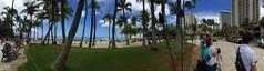 Wide Waikiki (minimi007) Tags: beach waikiki oahu honolulu hawaiius