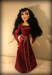 OOAK_Mother_Gothel (Disney_&_Collection) Tags: movie toy store doll dress princess ooak mother barbie disney gown ryder walt villain rapunzel mattel flynn 2010 tangled gothel