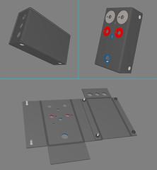 Bent Steel (matthew_lowery) Tags: design industrial steel bent solidworks cad enclosure bigmachineelectronics