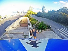 Week of unusual selfie-stick (Alexandr Tikki) Tags: world life trip travel blue original light summer sky selfportrait art modern wow idea crazy amazing perfect view awesome capital great creative bulgaria hero unusual concept moment incredible selfie tikki gopro selfiestick goprohero4 alexandrtikki leveltravel