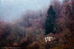 Forsaken Home (TalesOfAldebaran) Tags: old autumn winter house mountain fall horizontal canon river landscape village serbia canyon abandon gorge forsaken desolate zima 32 135mm srbija brdo jesen kanjon planina jupiter37a kua  pejzaz gornja klanac 700d klisura tresnjica 37a wwwdanilostefanoviccom