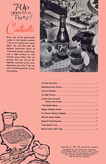 7-Up Goes to a Party - 1961 - Page 2 (shannonlepak) Tags: party vintage recipe cookbook cola pop retro soda 1960s recipes 7up 1961