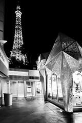 Paris - Las Vegas (massonth) Tags: las vegas bw usa paris tower nevada nb swarovski effeil