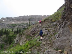 Hiking up the Stairway to Heaven (Anne's Travels 4) Tags: canyon wyoming wilderness tetons stairwaytoheaven grandtetonnationalpark jedediahsmithwilderness