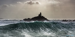 Power of the sea (Ronan Follic photographies) Tags: sea mer lighthouse storm canon eos brittany wave bretagne breizh phare bzh 6d tempte iledesein tevennec ronanfollic