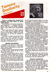 Manchester United vs Norwich City - 1976 - Page 3 (The Sky Strikers) Tags: old city red manchester one football official united devils norwich division trafford league programme