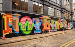 East End Street Art (Mabacam) Tags: streetart london wall painting graffiti stencil mural paint letters wallart urbanart shoreditch blocks freehand publicart lettering aerosolart spraycanart stencilling eastend oker 2016 straights urbanwall likenothingelse beneine