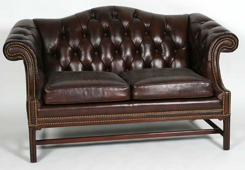 Hancock & Moore Leather Loveseat - $467.50