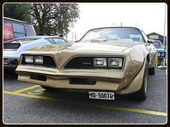 Pontiac Firebird Trans Am, 1978 (v8dub) Tags: auto old classic car schweiz switzerland am automobile suisse muscle automotive voiture pony american firebird oldtimer pontiac 1978 trans oldcar collector youngtimer wagen pkw klassik worldcars