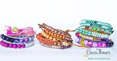 Boho wrap bracelet (Coco_Flower) Tags: summer cute fashion spring colorful handmade trendy bracelet etsy boho mode gypsy