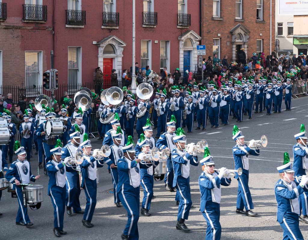 THE OLD DOMINION UNIVERSITY MONARCH MARCHING BAND [ST. PATRICK'S PARADE 2016]-112633